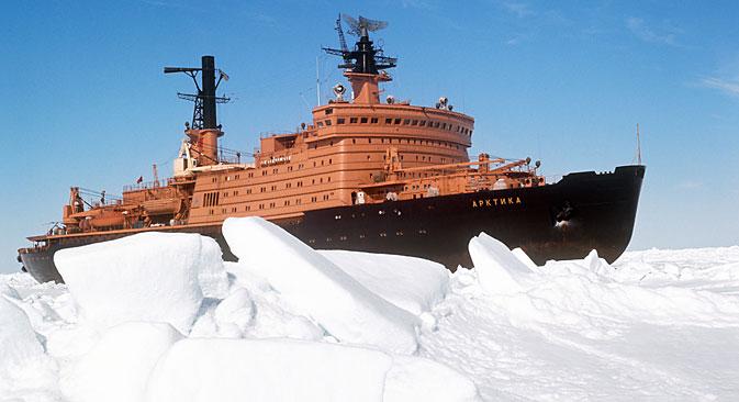 Ledolomac Sovjetski Savez počeo se koristiti samo dvije godine prije raspada te države.Izvor: Itar-Tass