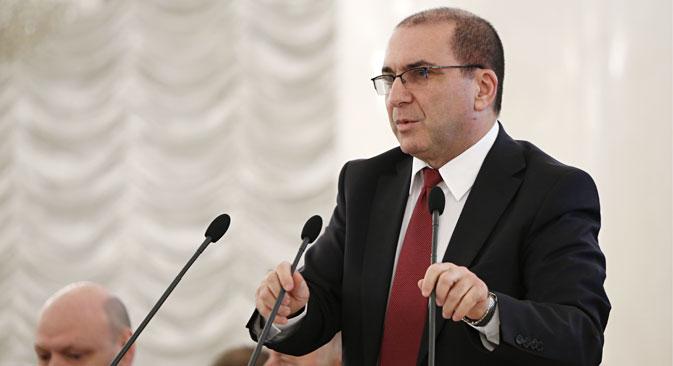 """Garegin Tosunjan istaknuo je da forum ima ogromni potencijal, """"jer su i potencijali Ruske Federacije i Hrvatske veliki"""". Izvor: ITAR-TASS"""