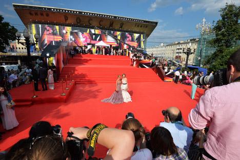 MMKF je druga najstarija smotra filmova nakon Filmskog festivala u Veneciji. Izvor: RIA Novosti.