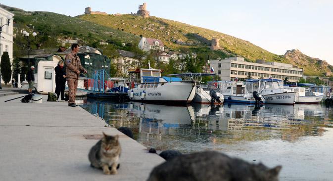 Turizam je na Krimu oduvijek bio jedna od najprofitabilnijih djelatnosti. Nakon ulaska Krima u RF, legalizacija rada turističkih objekata bit će neizbježna. Izvor: Konstantin Chalabov / Ria Novosti