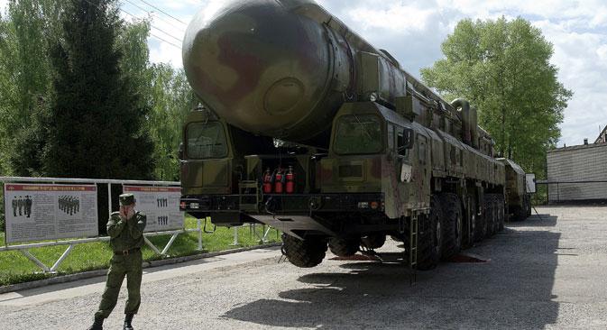 Raketni kompleks Topolj RT-2PM (prema klasifikaciji NATO-a SS-25). Izvor: RIA Novosti.