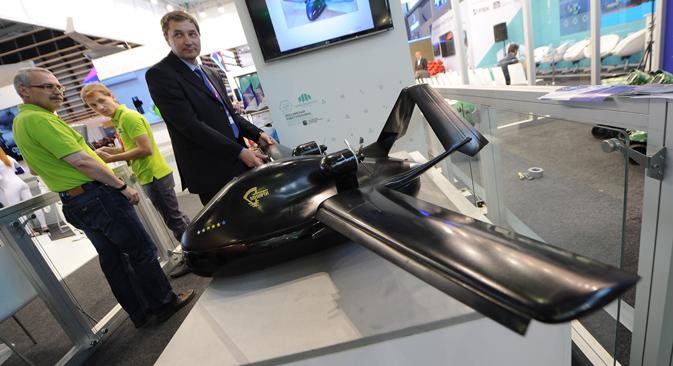 Bespilotne hovercraft letjelice serijski se nigdje ne proizvode. Izvor: ITAR-TASS