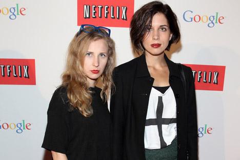 Nakon oslobođenja, pjevačice Pussy Riot su se pojavile na humanitarnom koncertu u New Yorku, gdje im je čestitala Madonna, sastale su se sa Samanthom Power, stalnom predstavnicom SAD-a pri UN-u, te su se pojavile u televizijskoj komediji Colbert Report.Izvor: Getty Images/Fotobank