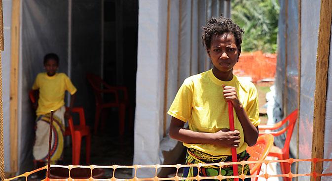 Osim Liberije, Gvineje i Sijera Leonea, oboljeli od ebole registrirani su i u Nigeriji i u Hong Kongu. Izvor: Reuters. //PHOTO