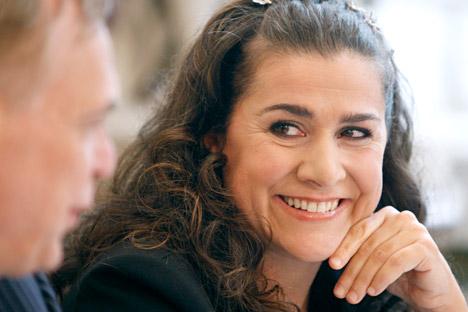 Cecilia Bartoli: Talijanski kompozitori su putovali na mnoga mesta, ali je sanktpeterburški dvor bilo jedno od najprestižnijih. Izvor: Reuters.