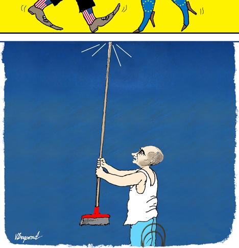 Karikatura: Viktor Bogorad