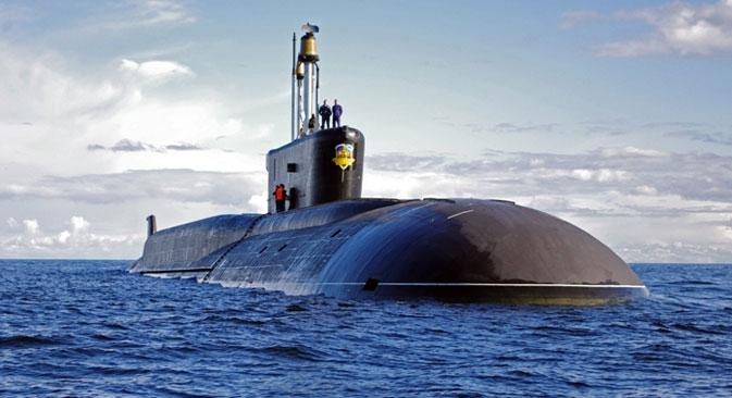 """Nuklearna podmornica """"Jurij Dolgoruki""""."""