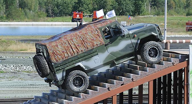 """Oklopna zaštita omogućuje korištenje """"Skorpiona"""" za izviđačke misije, ali i za provedbu antiterorističkih operacija. Izvor: ITAR-TASS"""