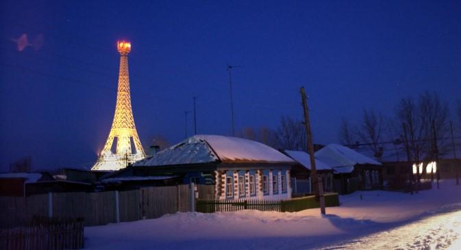 Selo Pariz u Čeljabinskoj oblasti. Izvor: Itar-Tass