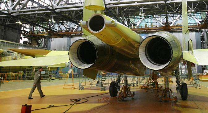 Rusija razmatra mogućnost pokretanja zajedničke proizvodnje oružja i s Brazilom. Na slici: Su-30 MKI. Fotografija: Ria Novosti/Aleksandar Krjažev