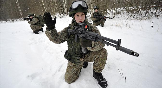 """Komplet """"Ratnik-2"""" osigurava borca svim onim što je potrebno za preživljavanje i vođenje uspješne borbe. Izvor: Photoshot / Vostock-Photo"""