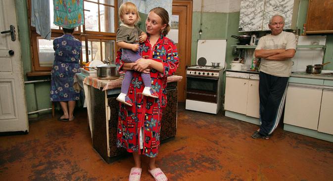 Danas u Moskvi zajednički stanovi iznose oko 2% ukupnog stambenog fonda. Izvor: Ruslan Šamukov / TASS