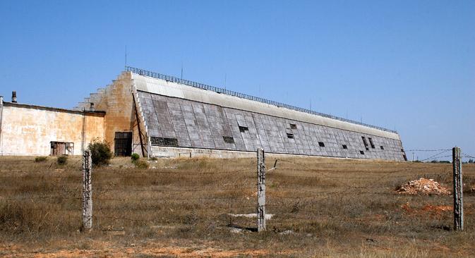 """Radar """"Dnipro"""" u Sevastopolju. Izvor: TASS"""