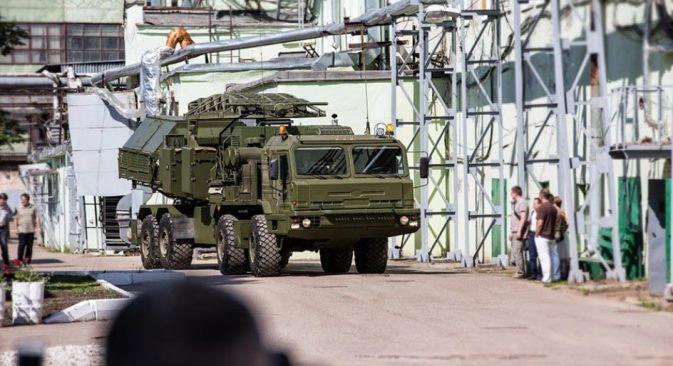 """""""Krasuha-2"""" je samo jedan stroj koji je za nekoliko minuta moguće razmjestiti na terenu. Izvor: Press Photo"""