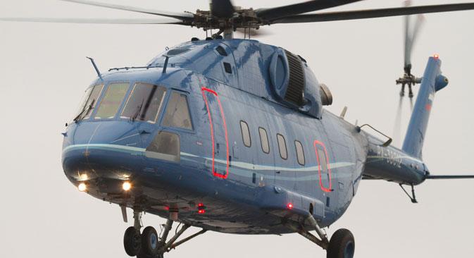 Mi-38 je prvi helikopter koji je u potpunosti sastavljen od ruskih dijelova. Izvor: RIA Novosti