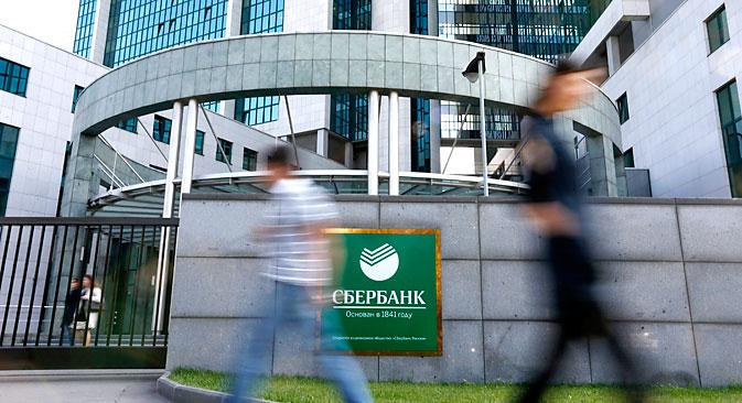 Sberbanka ima dodatni argument pred sudom, jer ona, za razliku od VTB-a i VEB-a, ne pripada neposredno državi. Izvor: Reuters