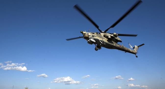 Mi-28N je 2009. uveden u naoružanje Vojske RF kao osnovni borbeni helikopter. Izvor: Rostislav Košelev / TASS