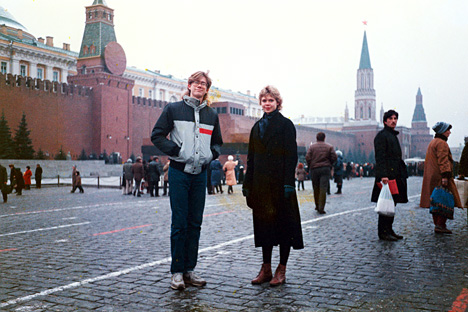 Red Square, Soviet Union.