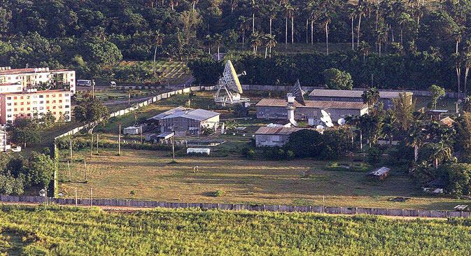 Baza GRU u Lourdesu (Kuba) mogla je pratiti i hvatati radio podatke po cijelom američkom teritoriju. Izvor: AFP/East News