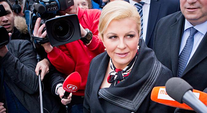 Hrvatima je potrebna nova privlačna i seksi predsjednica. Izvor: AP