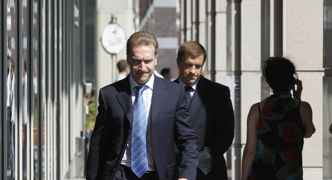 Prvi potpredsjednik Vlade RF Igor Šuvalov. Izvor: Reuters