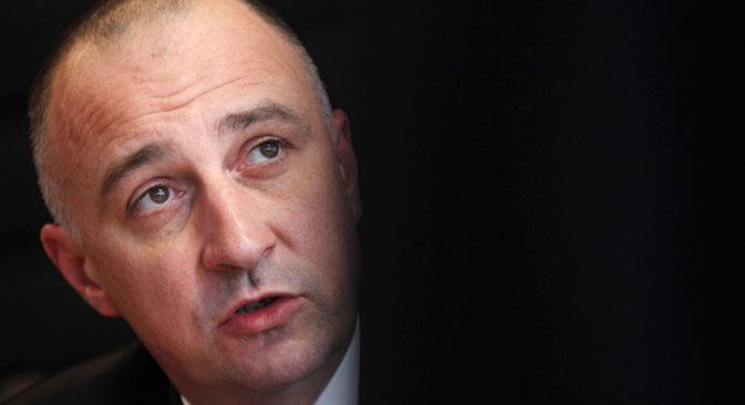 Ministar gospodarstava Republike Hrvatske Ivan Vrdoljak. Izvor: Reuters