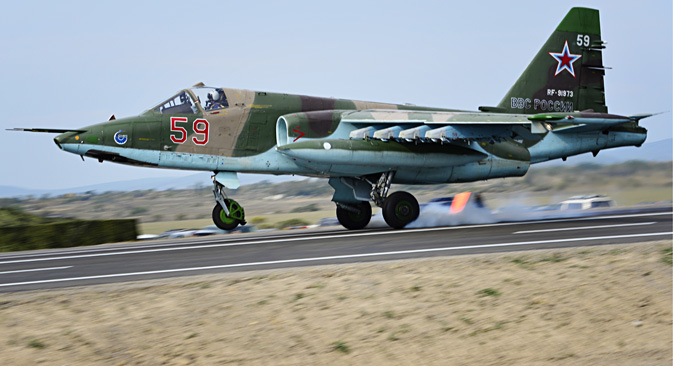 Radovi koji se u Rusiji provode na modernizaciji jurišnog zrakoplova Su-25 do verzije SM3 mogu produžiti rok njegove upotrebe još najmanje za deset godina. Izvor: ITAR-TASS