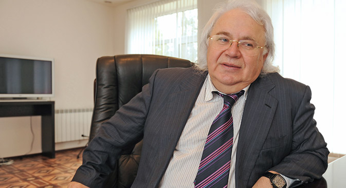 Viktor Petrik, član Ruske akademije prirodnih znanosti. Izvor: Jurij Belinskij/TASS.