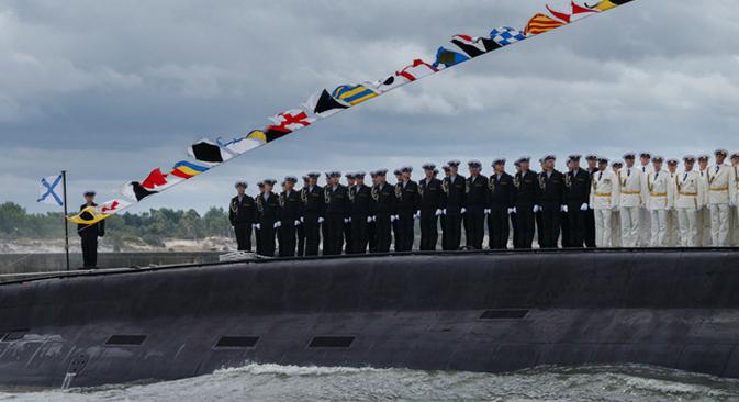 Dan ruske ratne mornarice u Baltijsku u Kalinjingradskoj oblasti.