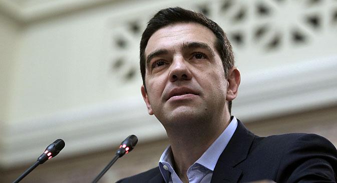 """U svome obraćanju naciji putem televizije Cipras je izjavio da """"sada, kada je završena teška faza pregovora s kreditorima, osjeća moralnu i političku odgovornost da iznese na sud javnosti sve ono što je vlada učinila""""."""