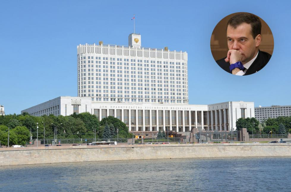 "Unlike Putin, Prime Minister Dmitry Medvedev commutes every day from his out-of-town residence Gorki-9 to the center of Moscow, as his office is in the House of the Government, also known as the ""Russian White House"". A paradigm of Soviet constructivism, the building suffered severe damage during the 1993 Constitutional crisis when Boris Yeltsin ordered a tank shelling of his parliament opponents."