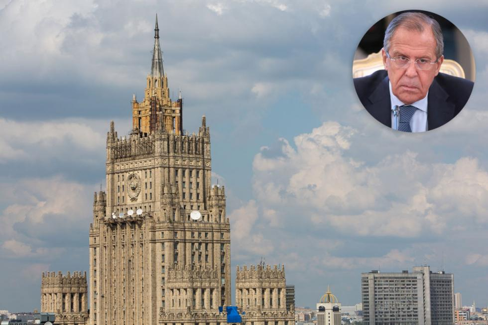 "Russia's Ministry of Foreign Affairs has quite a strong voice in the global agenda. If you're wondering where Mr. Sergey Lavrov and his staff work, just google ""Moscow skyline."" There's no way you'll miss the Stalinist high-rise on Smolenskaya Square - one of the legendary ""Seven Sisters."