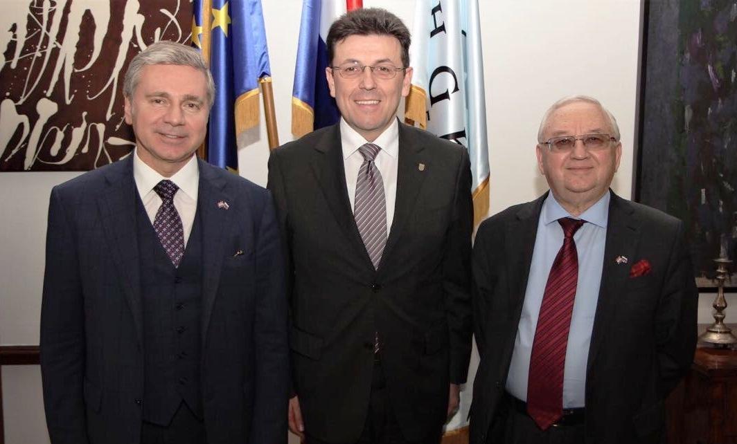 Sergej Čerjomin, Luka Burilović i Anvar Azimov /
