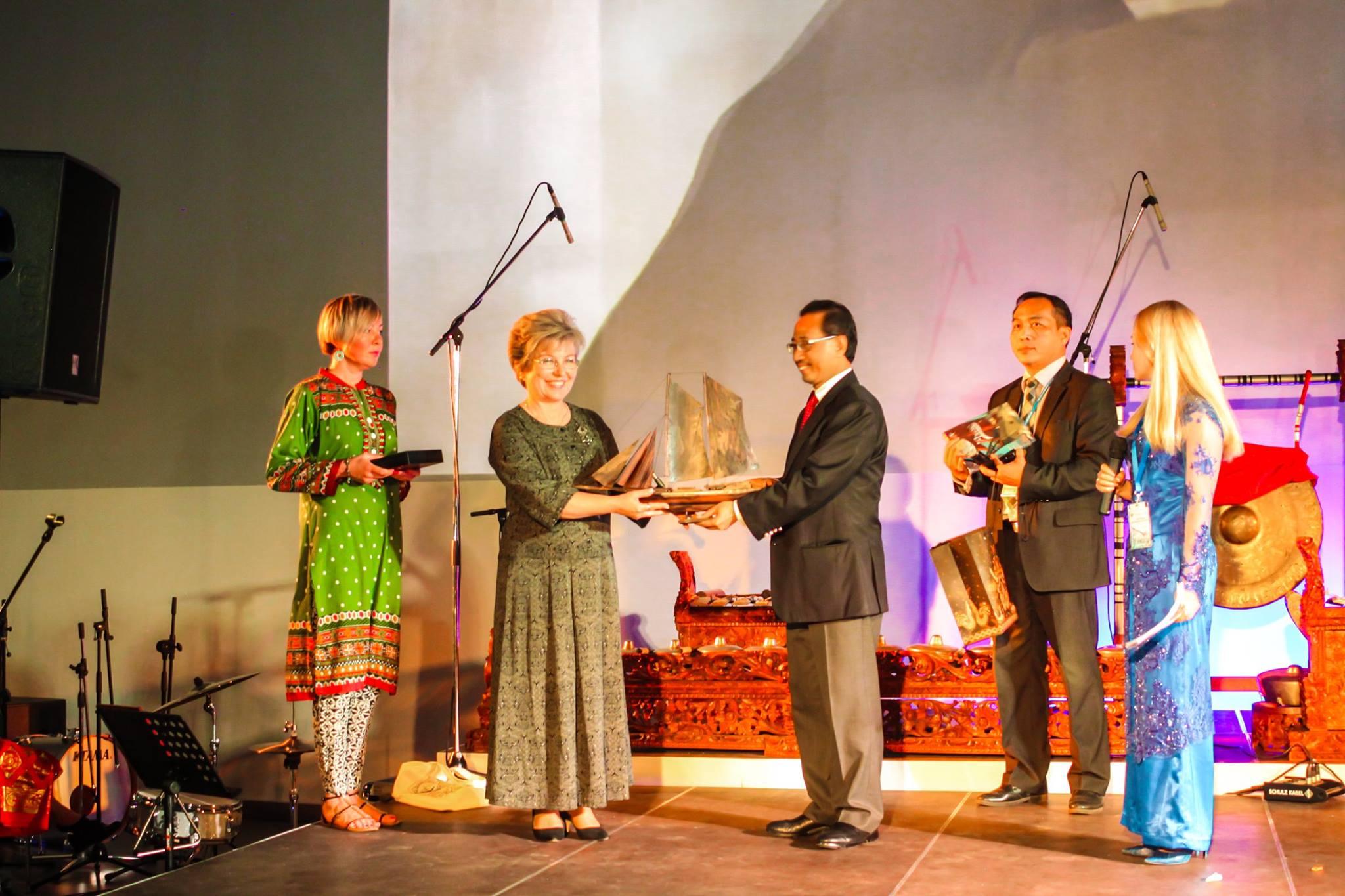 Festival budaya Indonesia sukses digelar di Svetlogorsk Rusia.