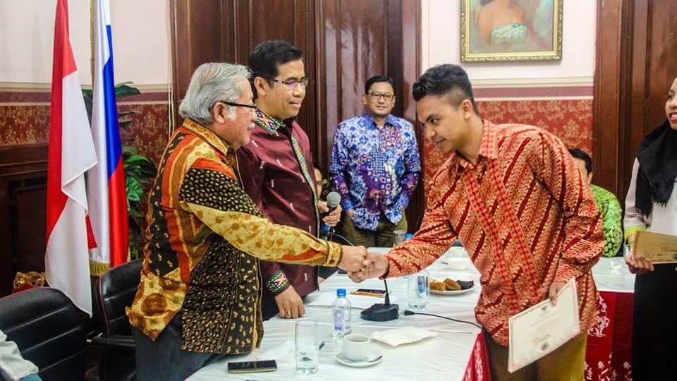 MPR RI melakukan sosialisasi empat pilar Indonesia di Sankt Peterburg dan Moskow.