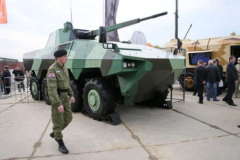 ATOM, kendaraan infanteri berat. Sumber: Tatyana Andreeva / RG