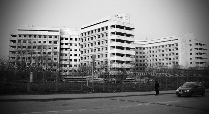 """Rumah sakit telantar Khovrinskaya masuk dalam daftar """"tempat paling menakutkan di bumi""""."""