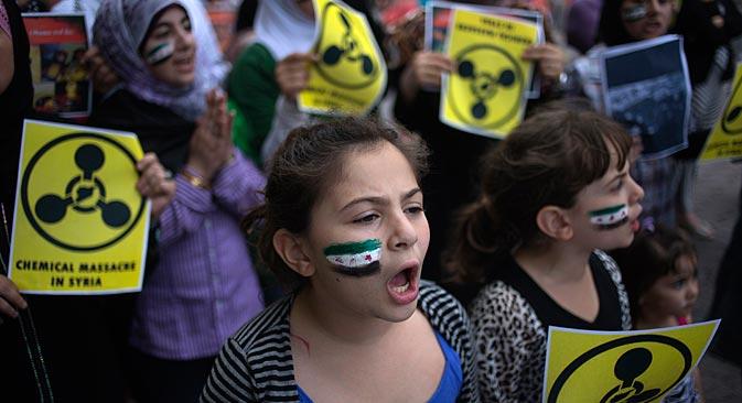 Apakah Rusia bisa menyelamatkan Suriah? Sumber: Reuters