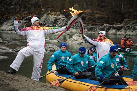 Itu masih harus dilihat bahwa Olimpiade Sochi mampu membaik citra kontroversial Rusia. Sumber: RIA Novosti/Mikhail Voskresensky