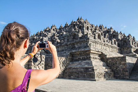 Sebanyak 100 hingga 110 orang warga Rusia diperkirakan akan berkunjung ke Indonesia tahun 2013. Kredit: Alamy/Legion Media