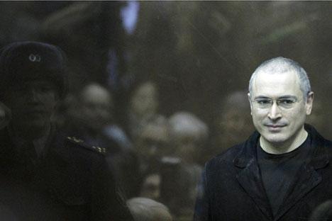 """Mantan CEO perusahaan """"Yukos"""" Mikhail Khodorkovsky yang dihukum di Rusia karena sejumlah kejahatan serius, telah diberi pengampunan oleh pemerintah Rusia. Sumber: Reuters"""