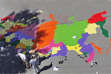 Di Rusia kini ada 21 republik etnis, bersama sembilan krai, 46 oblast, tiga kota tingkat federal, satu oblast otonom, dan empat okrug otonom.