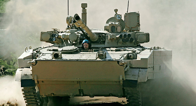 BMP-3 infantry fighting vehicles (IFV).