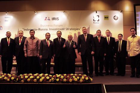 Rusia menawarkan sejumlah proyek inovasi, salah satunya pembuatan sistem pengawasan perairan Zona Eksklusif Ekonomi Indonesia.