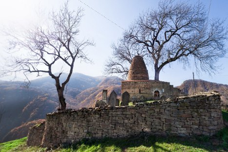 Benteng Kala Quraisy, Dagestan. Lihat tampilan 3D dari situs Departemen Kebudayaan Federasi Rusia di sini. Kredit: kultura.rf