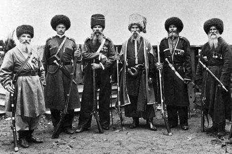 Para Don Cossack di akhir abad ke-19. Kredit: RIA Novosti