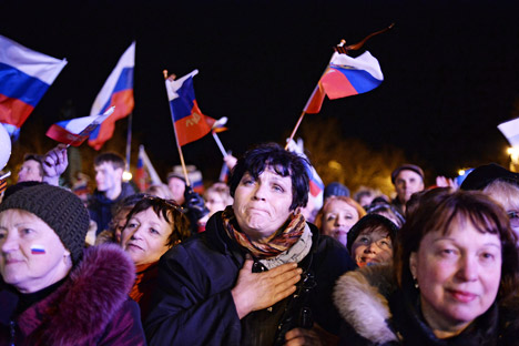Secara formal, tak ada negara yang akan merestui bergabungnya Krimea dengan Rusia. Kredit: Valeriy Melnikov/RIA Novosti