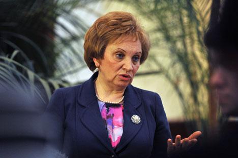 Olga Yegorova. Foto: RIA Novosti
