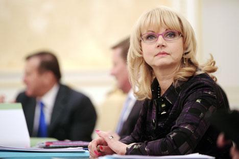 Tatiana Golikova. Foto: TASS