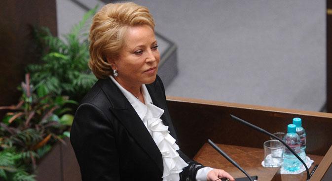 Ketua Dewan Majelis Federal Federasi Rusia Valentina Matviyenko akan bertemu dengan DPD RI pada November mendatang.